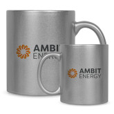 Full Color Silver Metallic Mug 11oz-Ambit Energy