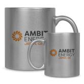 Full Color Silver Metallic Mug 11oz-Ambit Energy Japan