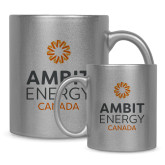 Full Color Silver Metallic Mug 11oz-Ambit Energy Canada