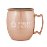 Copper Mug 16oz-Ambit Energy  Engraved