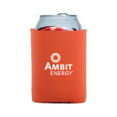 Collapsible Orange Can Holder-