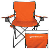 Deluxe Orange Captains Chair-Ambit Energy