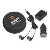 3 in 1 Black Audio Travel Kit-Ambit Energy