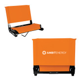 Stadium Chair Orange-Ambit Energy