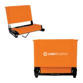 Stadium Chair Orange-Ambit Energy
