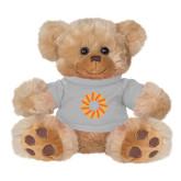 Plush Big Paw 8 1/2 inch Brown Bear w/Grey Shirt-Spark