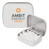 White Rectangular Peppermint Tin-Ambit Energy Canada