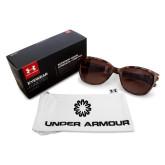 Ladies Under Armour Perfect Tortoise Sunglasses-Spark