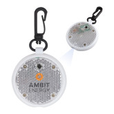 Clear Round Flashing Reflector Light-Ambit Energy