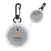 Clear Round Flashing Reflector Light-Ambit Energy