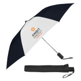 42 Inch Slim Stick Black/White Vented Umbrella-Ambit Energy Japan