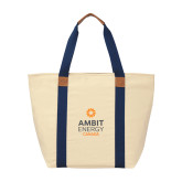 Natural/Navy Saratoga Tote-Ambit Energy Canada