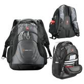 Wenger Swiss Army Tech Charcoal Compu Backpack-Ambit Energy