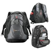 Wenger Swiss Army Tech Charcoal Compu Backpack-Ambit Energy Japan