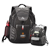 High Sierra Big Wig Black Compu Backpack-Ambit Energy Canada