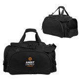 Challenger Team Black Sport Bag-Ambit Energy Canada