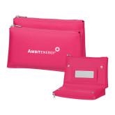 Tropical Pink Vanity Bag w/Mirror-