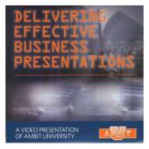 Delivering Effective Business Presentations DVD 1/pkg-