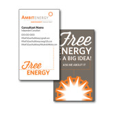 Consultant Business Cards, Pick Your Back Option-Free Energy
