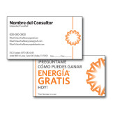 SPANISH NY Consultant Business Cards-