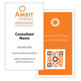 Ambit Enery Business Building Business Cards, English, 50/Set-