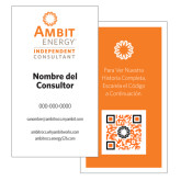 Ambit Enery Business Building Business Cards, Spanish, 50/Set-