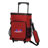 30 Can Red Rolling Cooler Bag-AMA Racing