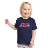 Toddler Navy T Shirt-Official Logo