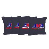 Navy Cornhole Bags, Set of 4-AMA Racing
