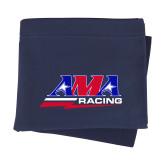 Navy Sweatshirt Blanket-AMA Racing