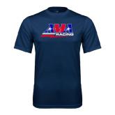 Performance Navy Tee-AMA Racing