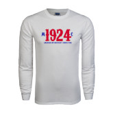 White Long Sleeve T Shirt-1924 MC