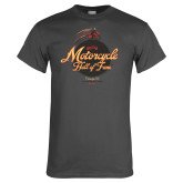 Charcoal T Shirt-Hall of Fame Globe Rider