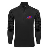 Syntrel Black Interlock 1/4 Zip-AMA Racing