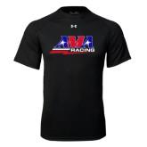 Under Armour Black Tech Tee-AMA Racing