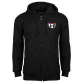 Black Fleece Full Zip Hoodie-AMA US Trial Des Nations Team