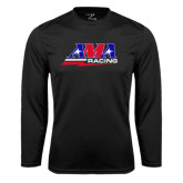 Syntrel Performance Black Longsleeve Shirt-AMA Racing