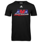 Adidas Climalite Black Ultimate Performance Tee-AMA Racing