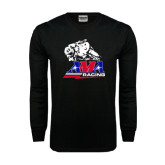 Black Long Sleeve TShirt-AMA RoadRacing