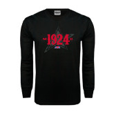 Black Long Sleeve TShirt-1924 Star