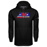 Under Armour Black Performance Sweats Team Hood-AMA Racing