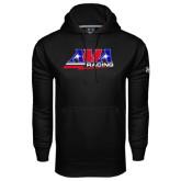 Under Armour Black Performance Sweats Team Hoodie-AMA Racing