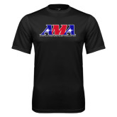 Performance Black Tee-Official Logo