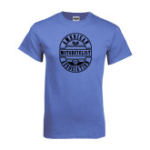 Arctic Blue T Shirt-Retro 1924 in Oval Design