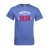 Arctic Blue T Shirt-Arched American MC 1924