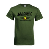 Military Green T Shirt-Protecting Your Right To Ride