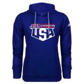 Adidas Climawarm Royal Team Issue Hoodie-US Motorcross Team