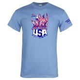 Light Blue T Shirt-2017 US ISDE Team