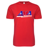 Next Level SoftStyle Red T Shirt-AMA Racing