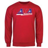 Red Fleece Crew-AMA Racing